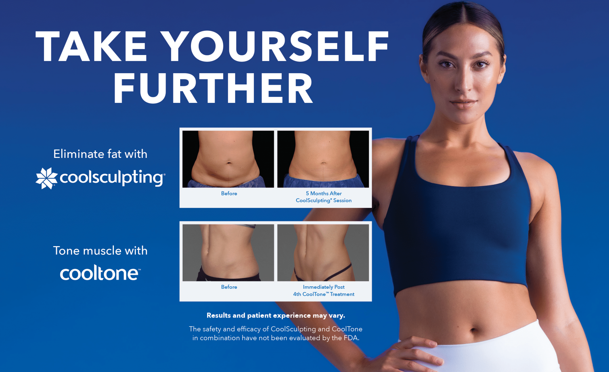 Take Yourself Further with Coolsculpt and Cooltone